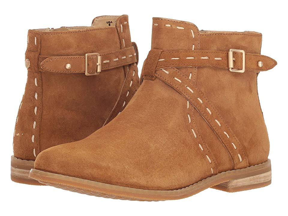 Hush Puppies Chardon Belt Boot (Camel Suede) Women
