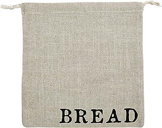 Santa Barbara Design Studio Table Sugar Linen Draw String Bread Bag, 12 x 13-Inches, Medium