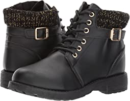 Lace-Up Buckle Boot (Little Kid/Big Kid)