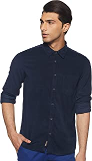 BUFFALO By fbb Men's Solid Regular Fit Casual Shirt