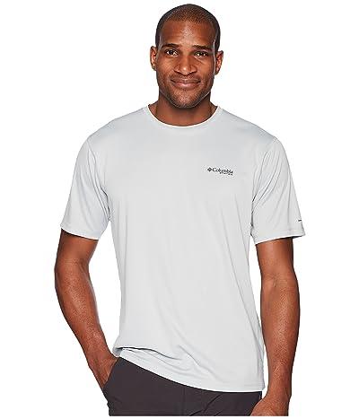 Columbia PFG ZERO Rulestm S/S Shirt (Cool Grey) Men
