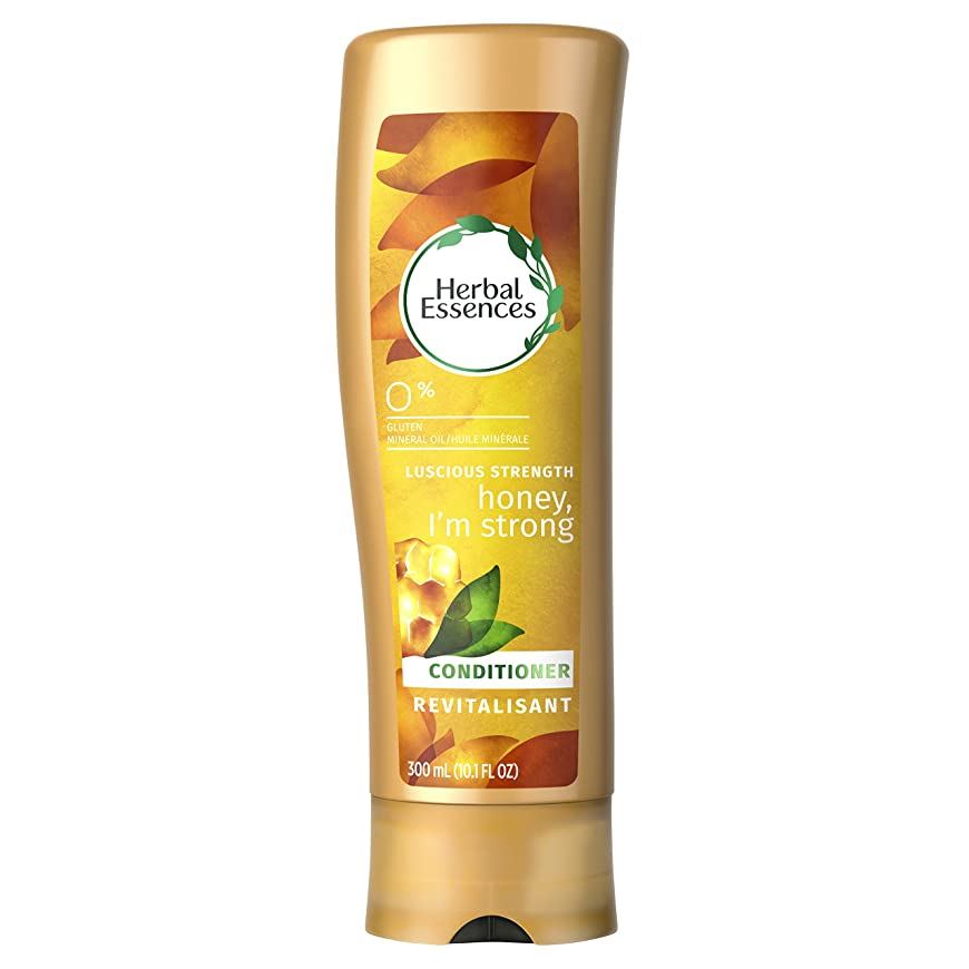 調整可能キリマンジャロ被害者Herbal Essences Honey I'm Strong Strengthening Conditioner, 10.1 Fluid Ounce by Procter & Gamble - HABA Hub [並行輸入品]
