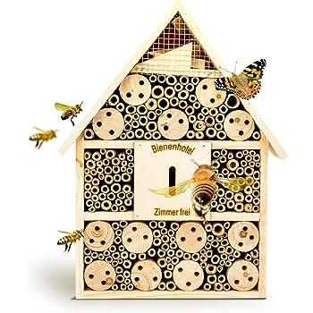 Insektenhotel Insektenhaus Nistkasten Brutkasten Insekten Bienen Hotel 29,5 cm