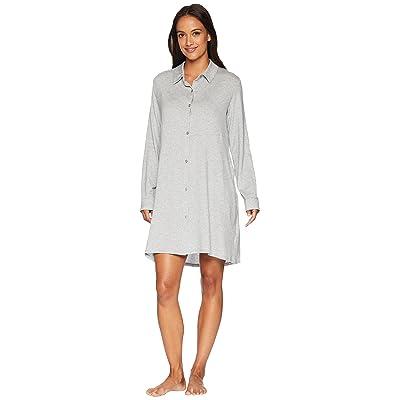 Donna Karan Sleepshirt (Grey Heather) Women