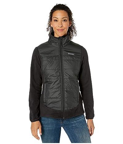 Columbia Basin Buttetm Fleece Full Zip (Black) Women