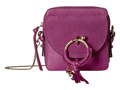 See by Chloe Joan Mini Camera Bag (Pulpy Purple) Shoulder Handbags