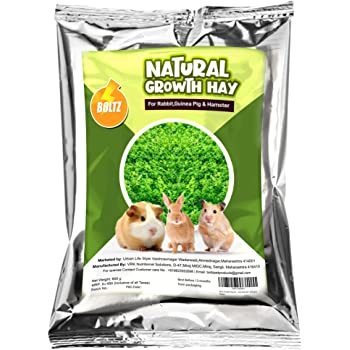 Boltz Growth Hay for Rabbits,Guinea Pigs and Hamsters (600 gm)