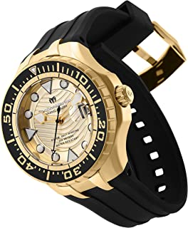 Technomarine TM-118088 メンズ ブルーリーフ自動巻き腕時計