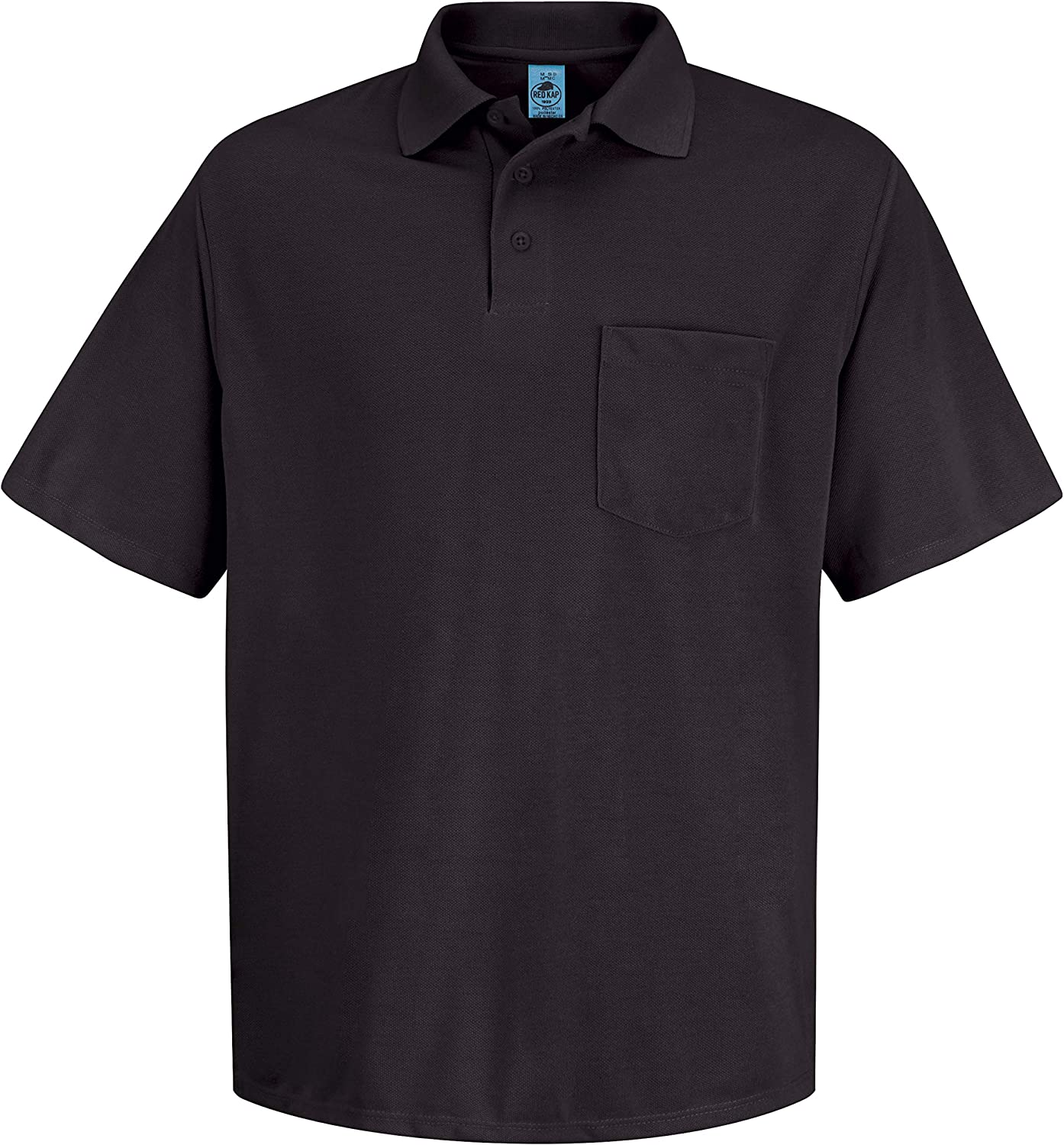 Red Kap Men's Performance Knit Polyester Solid Shirt