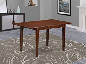 Picasso Table 32 in x 60in with 12 in butterfly leaf - Mahogany Finish