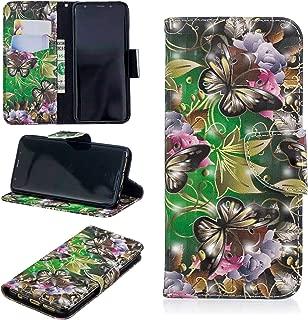 Galaxy S9 Case,UZER 3D Premium PU Leather Shockproof Kickstand Folio Flip Wallet Case Cash/Card Slots Durable Magnetic Plants Animals Series Book Case Samsung Galaxy S9 2018 Model
