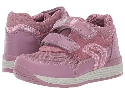 Geox Kids Rishon 20 (Toddler) (Dark Pink) Girls Shoes