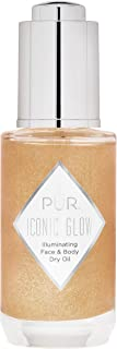 PUR Cosmetics Crystal Clear Iconic Glow Shimmer Oil, 1 FL Oz