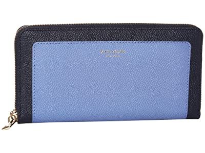 Kate Spade New York Margaux Zip Around Continental Wallet (Forget-Me-Not Multi) Wallet