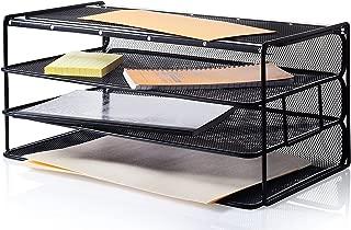"""Saganizer Desk Organizer Set (16"""") Desktop Organizer Extra Wide"""