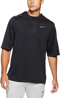 Nike Men's Pacer Hooded Short Sleeve Top AH6303-010