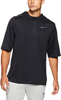 Nike Men's Pacer Hooded Short Sleeve Top AH6303-010