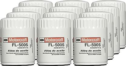 Motorcraft FL500SB12-12PK Oil Filter Fleet (Pk Aa5Z6714B)-Pack of 12