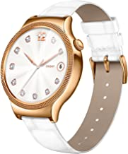 Huawei Smartwatch for iPhone, Android Smartphones - Retail Packaging - Gold/Pearl