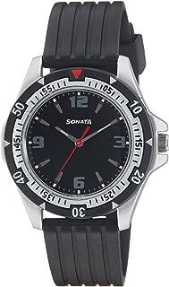 Sonata Analog Black Dial Men's Watch -NH7930PP02C