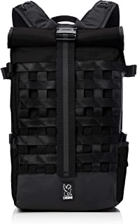 [クローム] BARRAGE ALL BLACK PC収納 A4収納 完全防水 バックパック 22L
