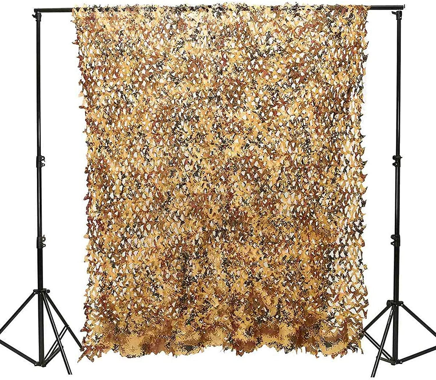 Camouflage Net Camo Netting Shading net for Photography Hunting Camping Military Car Cover (Size   3x3m)