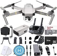 $899 » DJI Mavic Pro Platinum 4K Quadcopter Drone with SanDisk 64gb Card, Card Reader, Landing Gear Height Extender, Landing Pad Ultimate Starter Bundle Kit