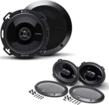 """$269 » Sponsored Ad - Rockford Fosgate 1 Pair of P16 Punch 6"""" Shallow Mount Coaxial and 1 Pair of P1694 Punch 6X9 4-Way Coaxial S..."""