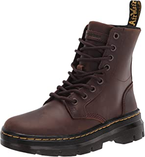 Dr. Martens Combs Leather unisex-adult Fashion Boot