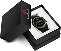 Smart Touch ST66 4G LTE Smart Watch for Men Android 6.0 & iOS, GPS Bluetooth Fitness Tracker | Real-Time Notifications | Smartwatch w/ Changeable Bands | IP67 Waterproof, Pedometer, Heart Rate & Sleep