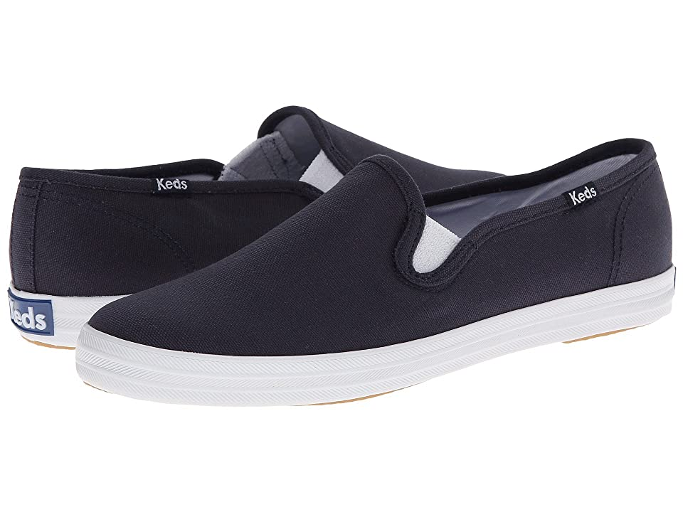 Keds Champion-Canvas Slip-On (Navy) Women's Slip on  Shoes