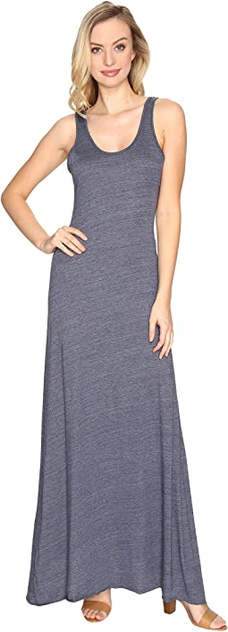 Eco Jersey Double Scoop Tank Dress