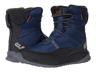 Jack Wolfskin Kids Polar Bear Texapore High (Toddler/Little Kid/Big Kid) (Blue/Black) Kids Shoes