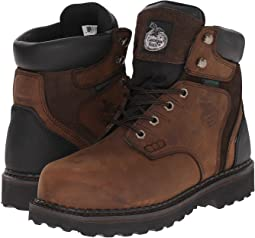 "Georgia Boot Brookville 6"" Steel Toe Waterproof"