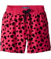 Vilebrequin Kids - Micro Turtles Flocked Swim Trunk (Toddler/Little Kids/Big Kids)