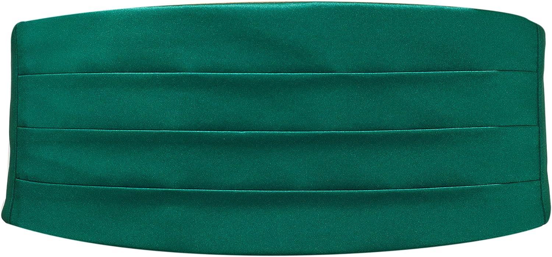 Emerald Satin Cummerbund