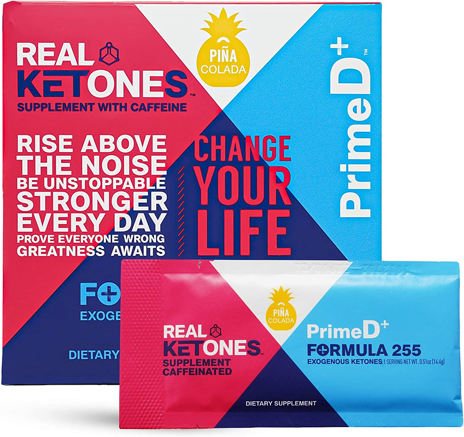 Real Ketones Prime Discount is also underway D+ Exogenous Keto Caffeine BHB Austin Mall D + MCT El