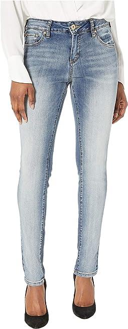 Petite Sheridan Skinny Jeans in Saginaw Blue