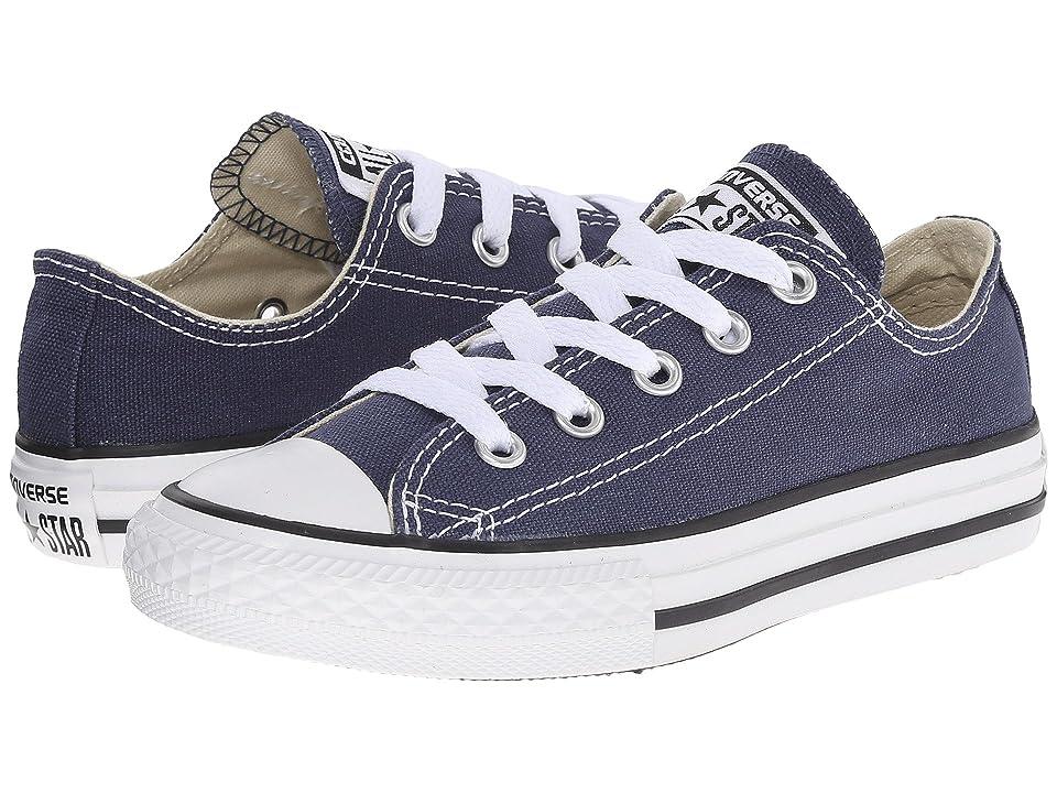 Converse Kids Chuck Taylor(r) All Star(r) Core Ox (Little Kid) (Navy) Kids Shoes