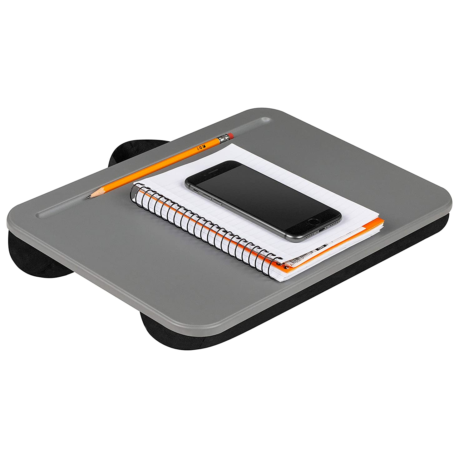 LapGear Compact Lap Desk - Charcoal (Fits up to 13.3
