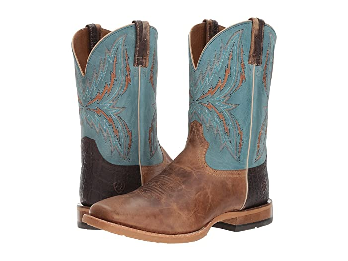 Ariat  Arena Rebound (Dusted Wheat/Heritage Blue) Cowboy Boots