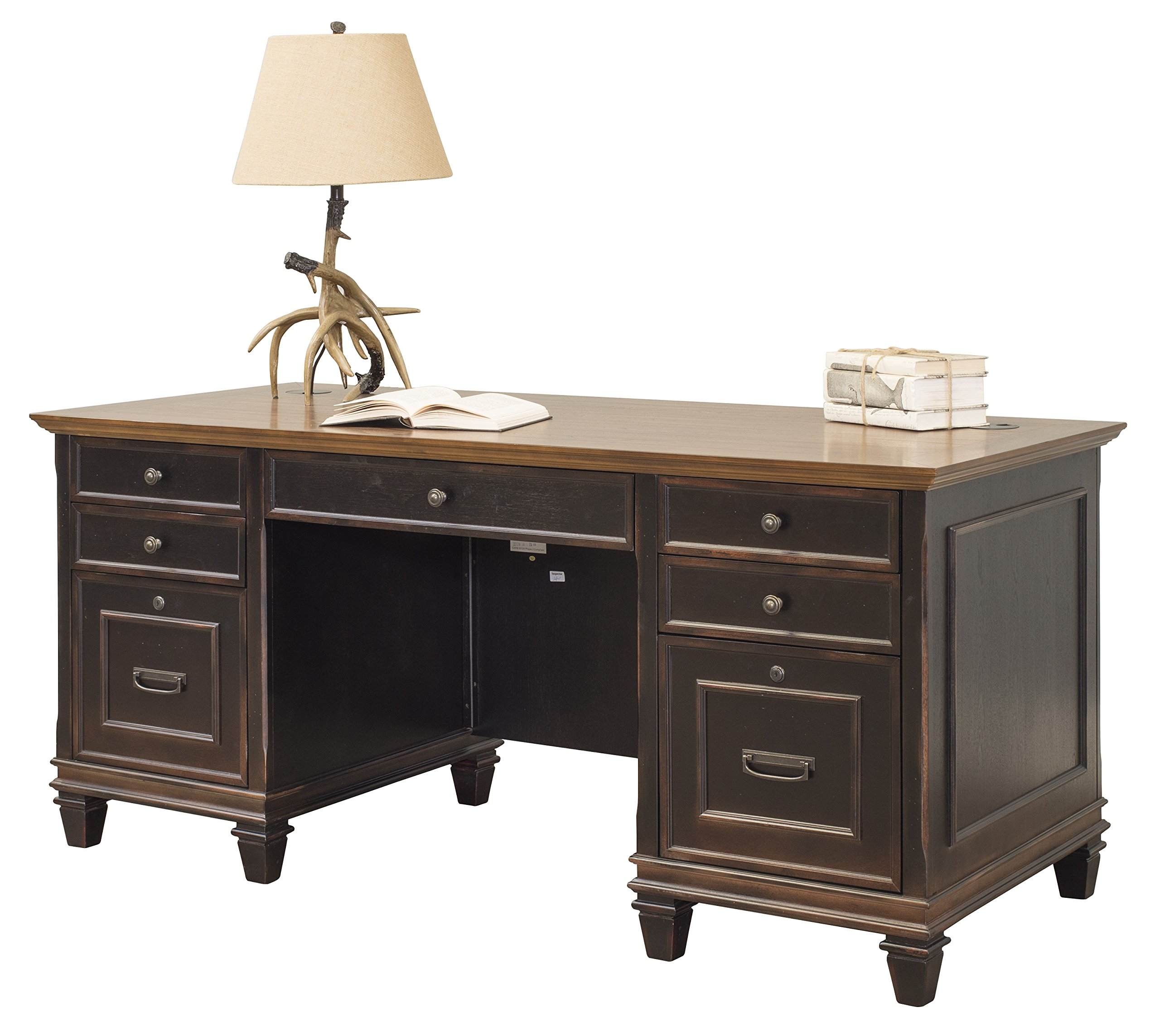 Martin Furniture Hartford Double Pedestal