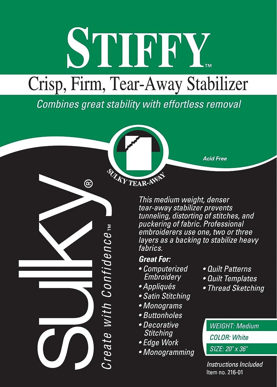 Sulky 216-01 Stiffy Tear, Away Stabilizer, 20