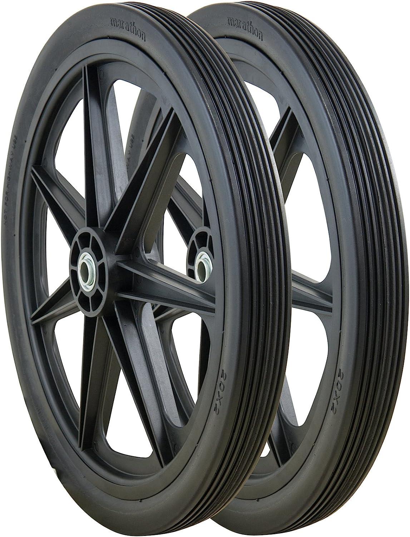 Marathon Rim Flat Free Cart Tire - Best For Rough Terrain