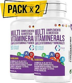 Vitaminas, minerales, complejo multimineral, cansancio y