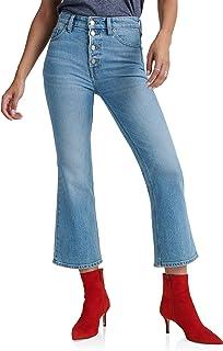 Lucky Brand Women's High Rise Bridgette Crop Mini Bootcut Jean