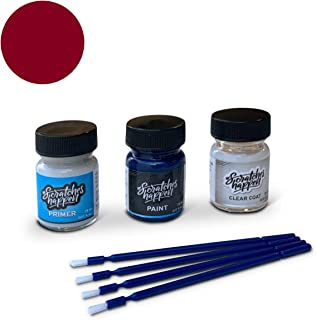 ScratchesHappen Exact-Match Touch Up Paint Kit Compatible with Land Rover Firenze Red (868/CAH/1AF) - Preferred