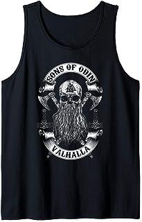 VIKINGS RISE-SONS OF ODIN- Vikings Nordish Odin Thor Débardeur
