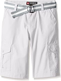Southpole Boy's Belted Ripstop Cargo Short