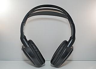 Wireless DVD Headphones for GMC Yukon (Black, 1 Headset)